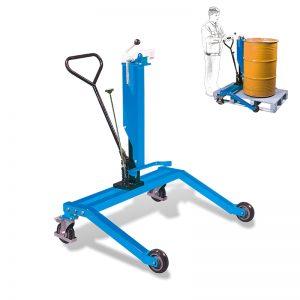 DTR250 hydraulický bubnový vozík s nohami