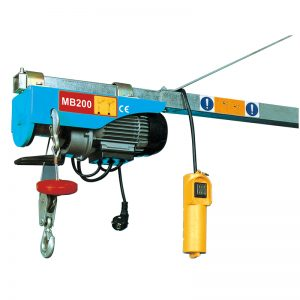 MB200 Mini elektrický kladkostroj, elektrický pákový kladkostroj