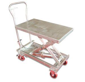 Zdvíhací stôl z nehrdzavejúcej ocele BSS10